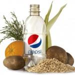 Pepsi's first 100 percent plant-based PET bottle