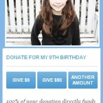 Rachel Charity Water Page